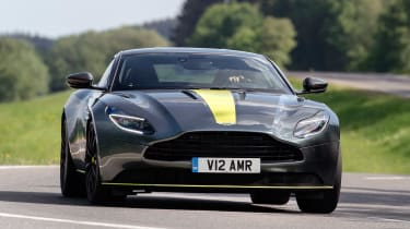 Aston Martin DB11 AMR - front cornering