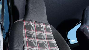 Volkswagen up! GTI tartan seat fabric