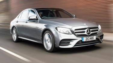 Mercedes E300 DE - O/S tracking
