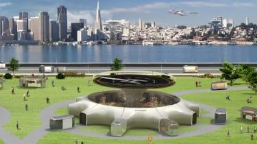 Hyundai flying concept - pad