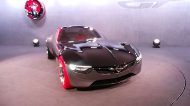 Vauxhall GT Concept - show pic - front three quarter