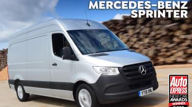 Van of the Year 2018 header Mercedes Sprinter