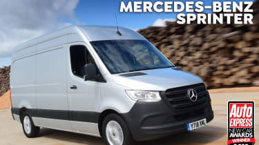 Van of the Year 2018 header Mercedes Sprinter