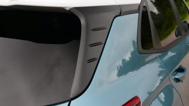 Hyundai Kona electric rear window trim