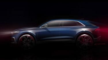 Audi Q8 - side teaser