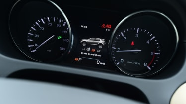 Land Rover Discovery Sport - instruments
