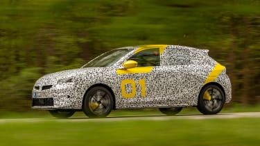 Vauxhall Corsa prototype - side