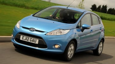 Ford Fiesta ECOnetic front tracking