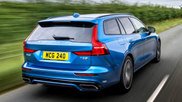 Volvo V60 T8 Twin Engine - rear