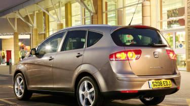 SEAT Altea XL rear three-quarters
