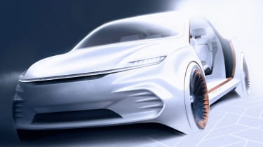 Chrysler Airflow Vision Concept - front