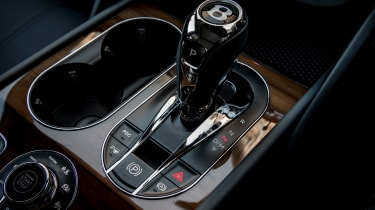 Bentley Bentayga Diesel - Ice white 2017 gearlever