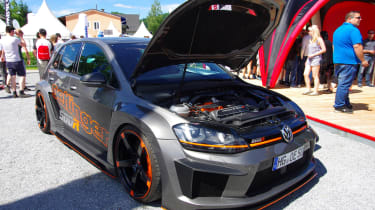 VW Golf modified - Worthersee