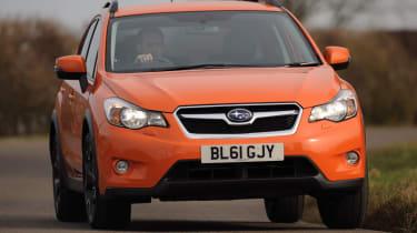 Subaru XV 2.0D SE front cornering