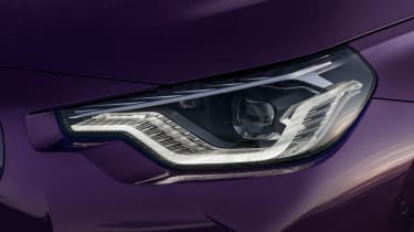 BMW M240i - front lights