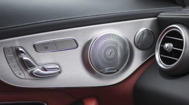 Mercedes C-Class Coupe - seats controls
