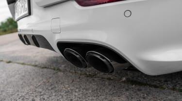 Porsche Cayenne Turbo S E-Hybrid - exhausts