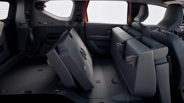 Dacia Jogger - seat folded