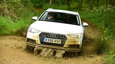 Audi A4 Allroad - off-road