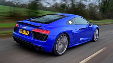Audi R8 RWS - rear action