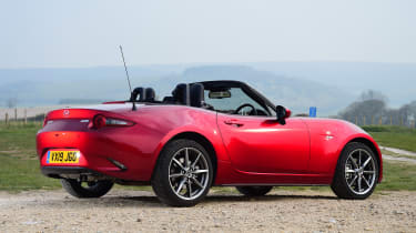 Mazda MX-5 long termer - first report rear static