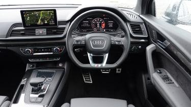 New Audi SQ5 2017 review UK - interior