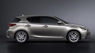 2018 Lexus CT facelift side