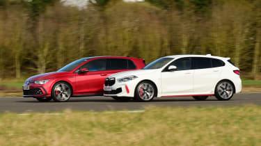 BMW 128ti vs Volkswagen Golf GTI