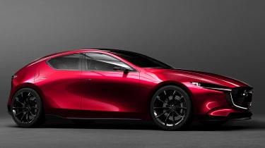 Mazda Kai concept - front