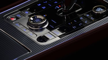 Bentley Continental GTC - studio centre console