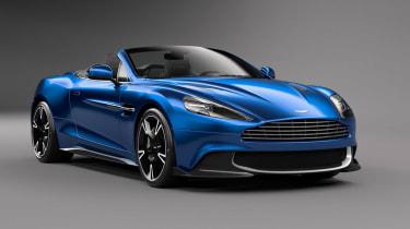 Aston Martin Vanquish Volante front quarter