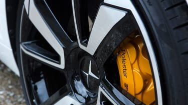 New Polestar 1 2020 review wheel