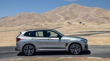 BMW X3 M Competition - side