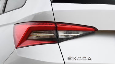 Kodiaq rear light
