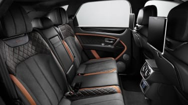Bentley Bentayga Speed - rear seats