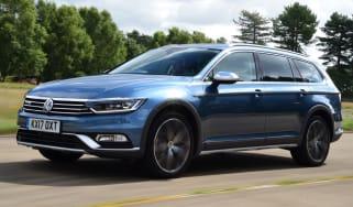 Tow car of the year 2018 - Volkswagen Passat Alltrack front