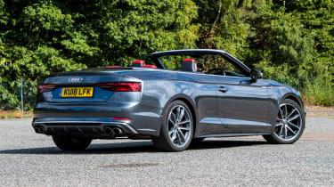 Audi S5 Cabriolet - rear