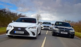 Lexus ES vs BMW 5 Series vs Volvo S90 - header