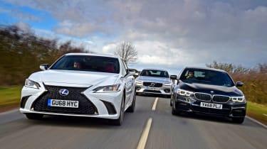 Lexus ES vs BMW 5 Series vs Volvo S90 - header