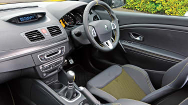 Superchips Renaultsport Megane interior