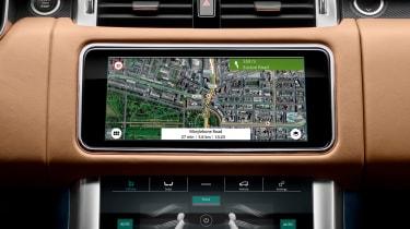 Range Rover Sport - sat-nav