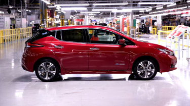 Nissan Leaf long termer first report - side