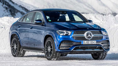 Mercedes GLC 400 d Coupe - front 3/4 static