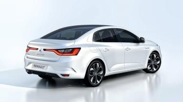 New Renault Megane Grand Coupe - studio rear quarter