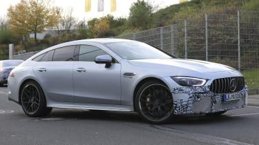 New Mercedes-AMG GT 4-door - side