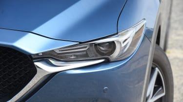 Mazda CX-5 vs Skoda Kodiaq vs VW Tiguan - Mazda CX-5 headlight