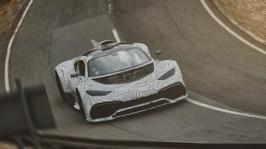 Mercedes-AMG Project ONE - teaser rear cornering