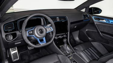 Volkswagen Golf GTI First Decade interior