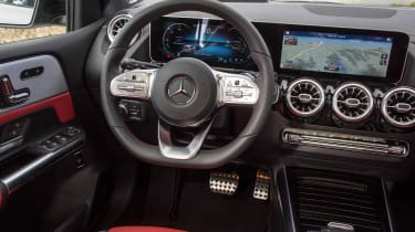 Mercedes B-Class interior