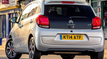Used Citroen C1 - rear static